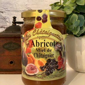 Confiture Abricot Miel de Châtaignier