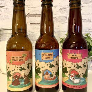 3 bières artisanales La Fa'briquette