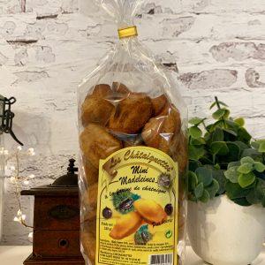 Mini madeleines à la farine de châtaigne
